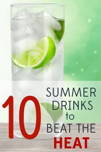 When summer temps are rising, you want something cold and refreshing. Try one of these delicious summer drink recipes.