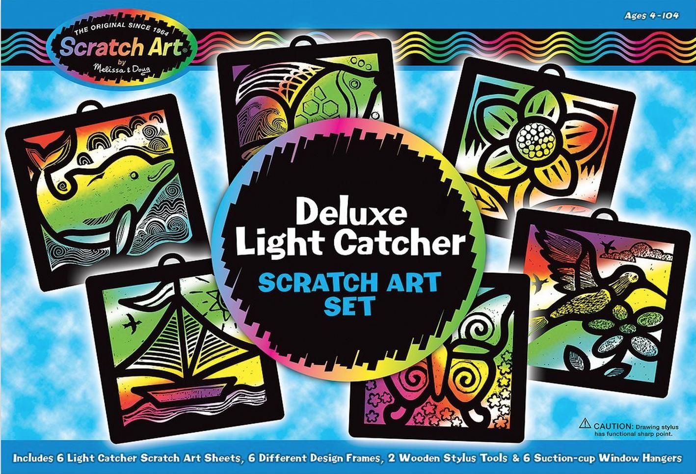 Melissa & Doug Deluxe Light Catcher Scratch Art Set Only $4.96 (Reg. $14.99!)