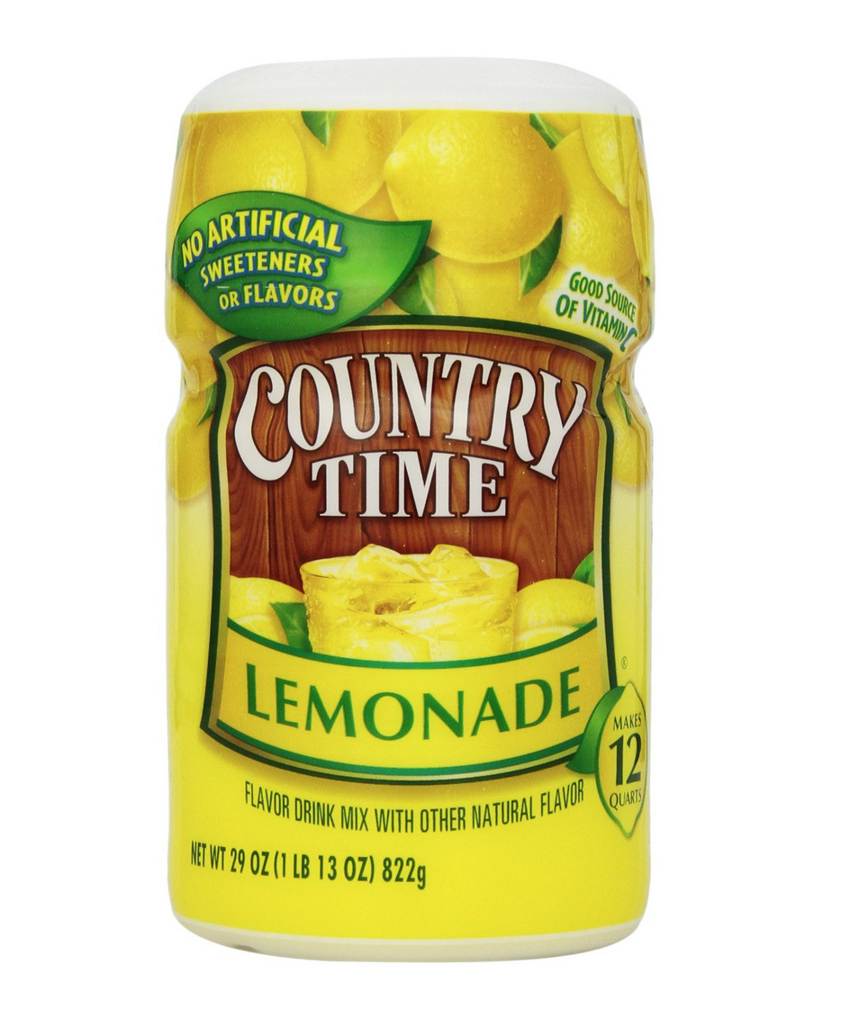 Pack of 4 Country Time Lemonade 29 Oz. Containers Only $9.16 Shipped!