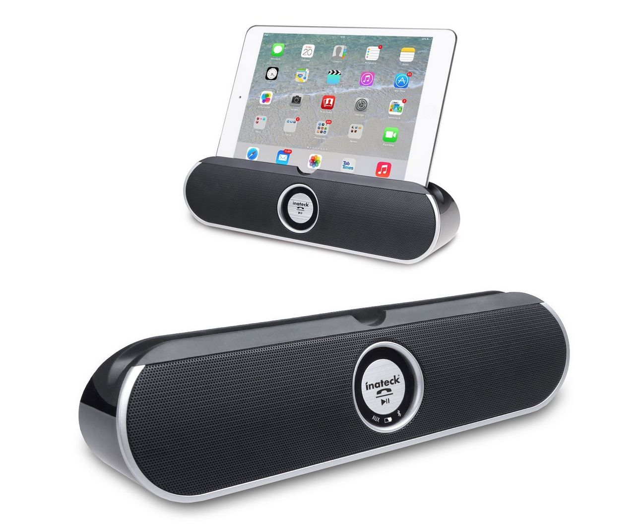 Highly Rated Inateck Dual-Driver Portable Wireless Bluetooth Speaker Only $24.99 (Reg. $62.99!)
