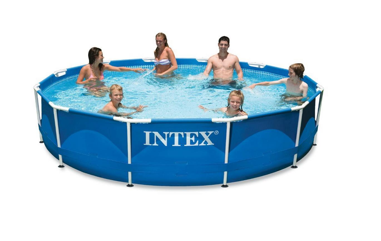 Intex 12ft X 30in Metal Frame Pool Set Only $95.99 (Reg. $180!)