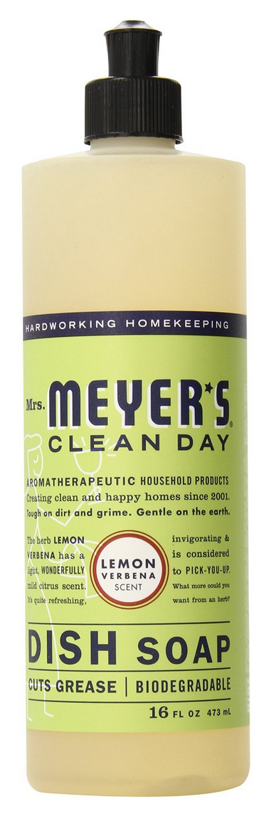 3-Packs of Mrs. Meyer's Clean Day Liquid Dish Soaps As Low As $8.23!