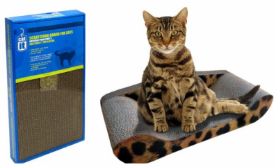 Catit Scratcher with Catnip Only $3.99 (Reg. $7.99!) + Kitty Sofa Deal!