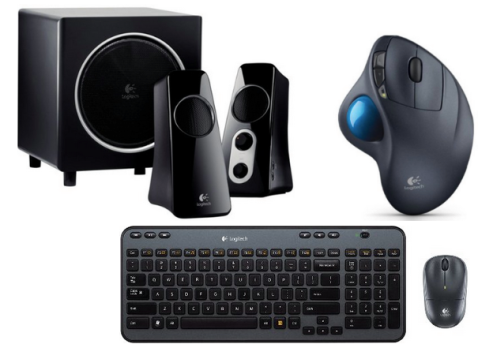 60% Off Logitech Computer Accessories (Mice, Keyboards, Speakers and More!)