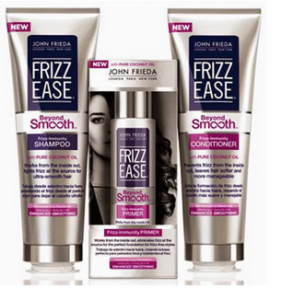 Score a FREE John Freida Frizz Ease sample today!