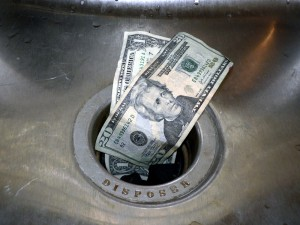 Are you shoving money down the drain with these mistakes? -via Shutterstock