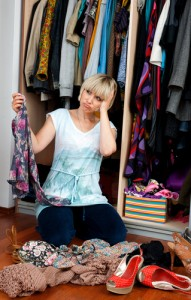 Is this your every morning? Then the 10 item wardrobe may be for you! Via Shutterstock.