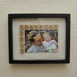 Daddy/Daughter frame