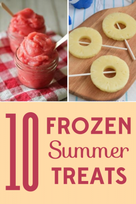 Looking for frozen summer treats that will delight kids and adults alike? These delicious summer treats will please even the pickiest eaters.