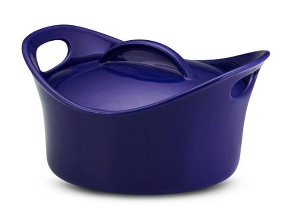 Rachael Ray Stoneware 2-3/4-Quart Covered Bubble and Brown Casserround Casserole Only $20.30 (Reg. $70!)