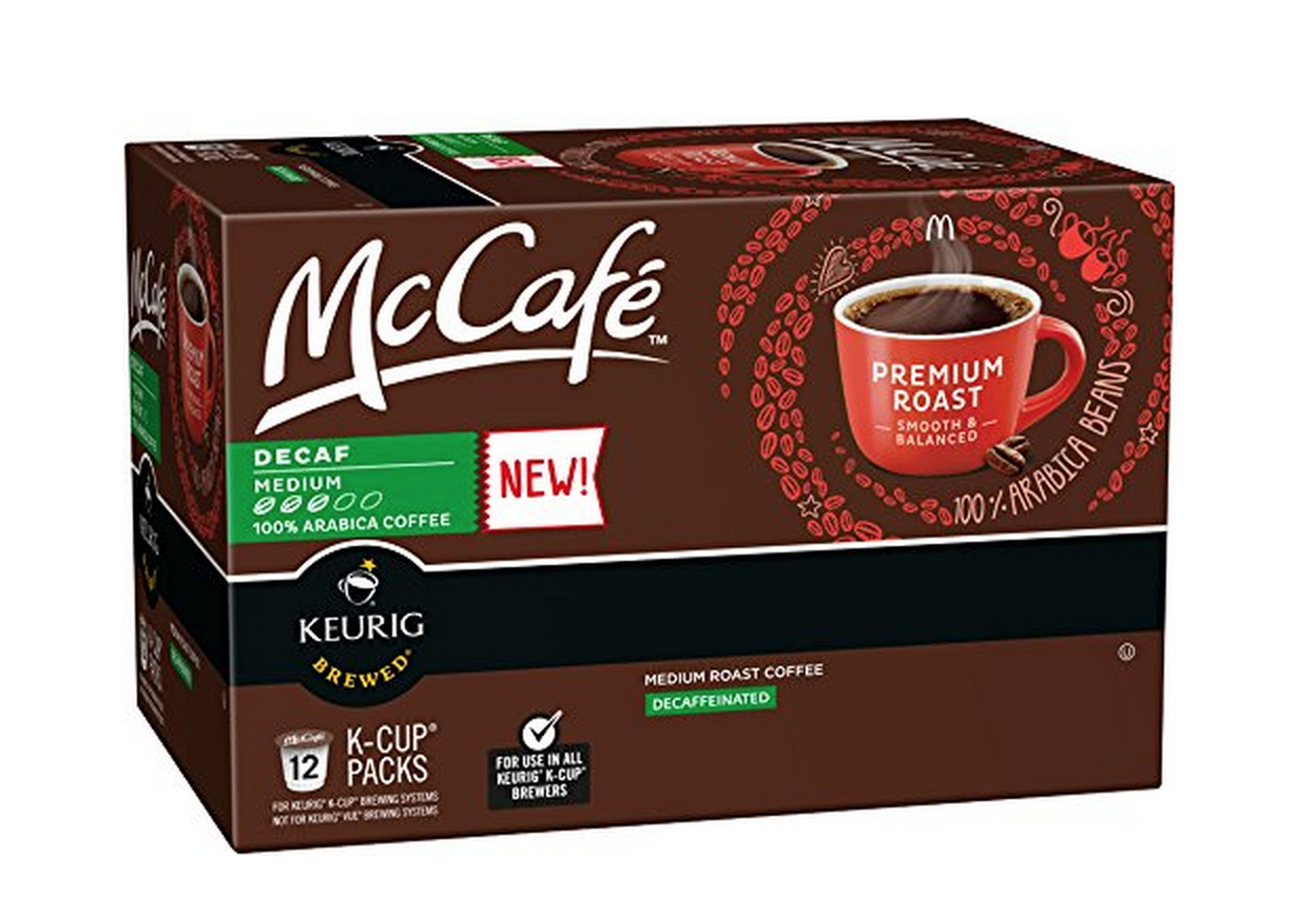 12-Count of McCafé Premium Medium Roast DECAF K-Cups Only $5.09! (Just 42¢ Each!)