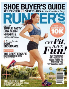 Score 3 FREE issues of Runner's Magazine today!