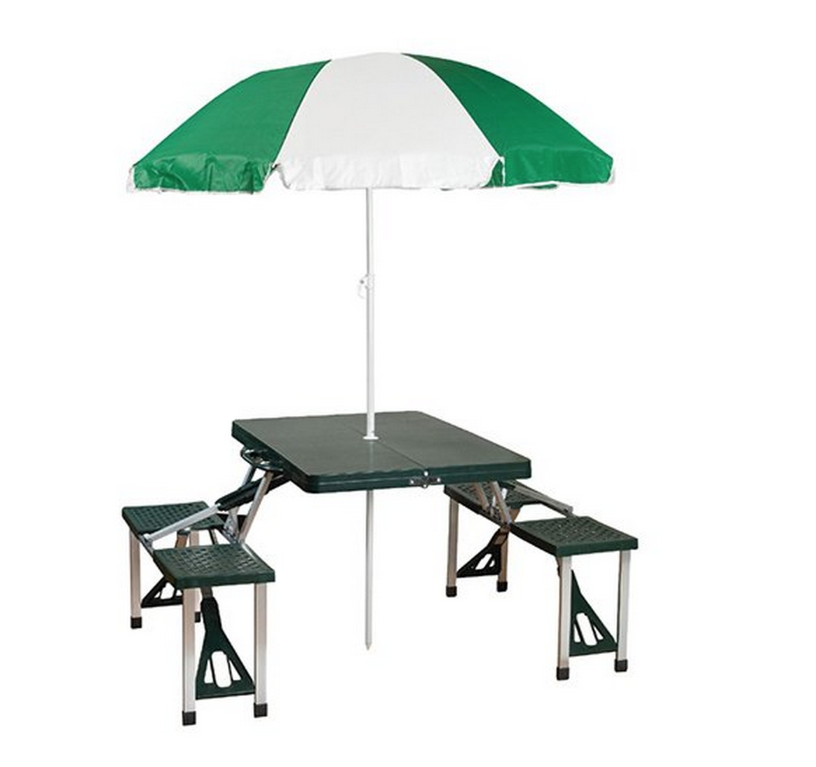 Stansport Picnic Table and Umbrella Combo Pack Only $36.98 (Reg. $69.99!) – Lowest Price!
