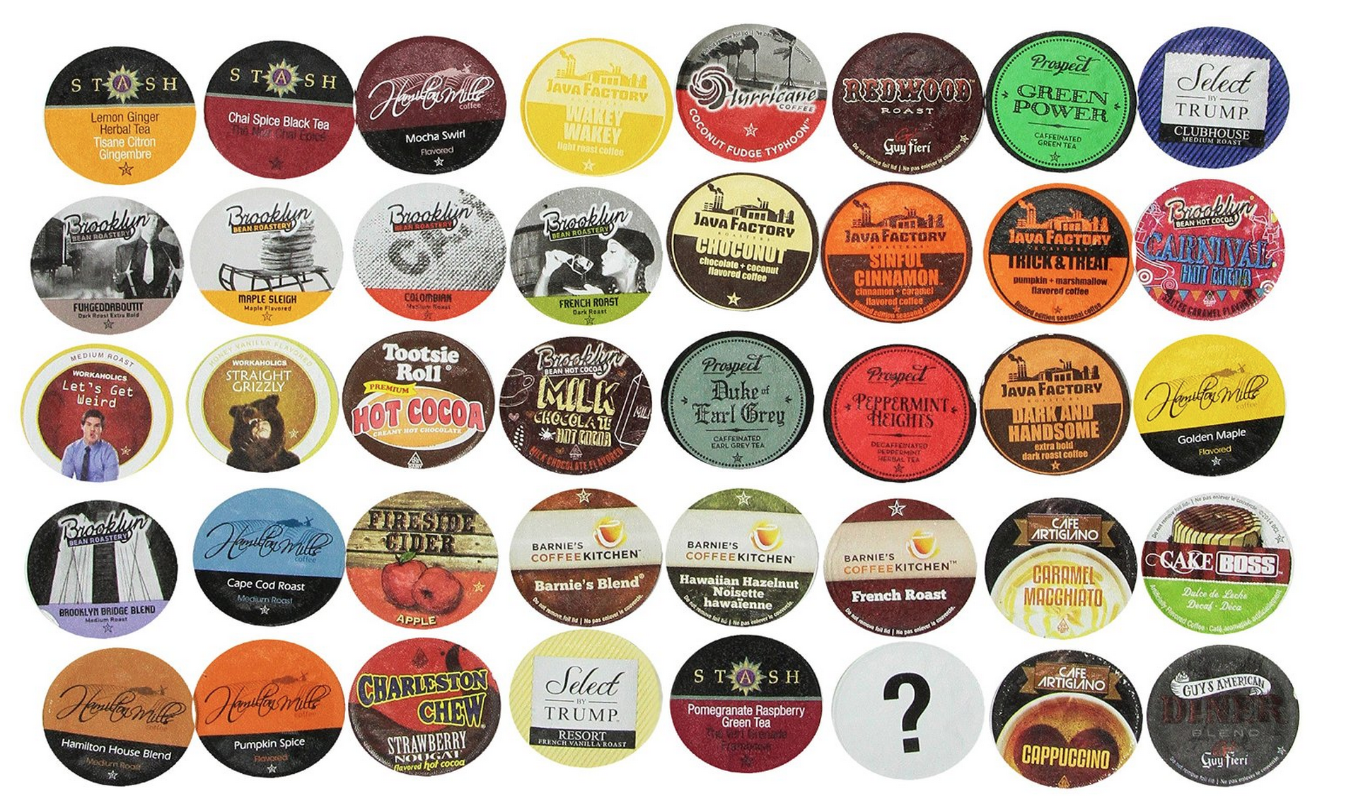 40 Count Two Rivers Bit of Everything K-Cup Sampler Pack Only $15.20 (Just 38¢ Per Cup!)