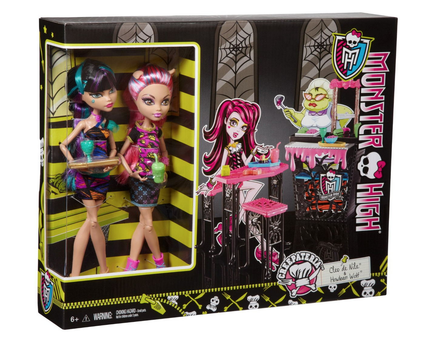 Monster High Creepteria with Cleo de Nile and Howleen Wolf Doll Only $12.09 (Reg. $34.99!)
