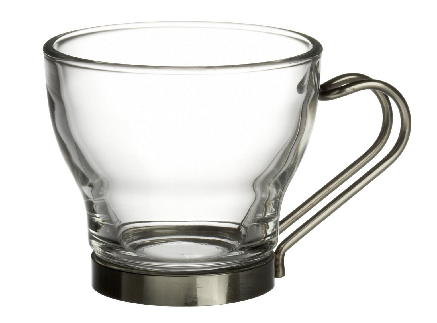 Set of 4 Bormioli Rocco Verdi Espresso Cup With Stainless Steel Handle Only $9.99 (Reg. $44.25!)