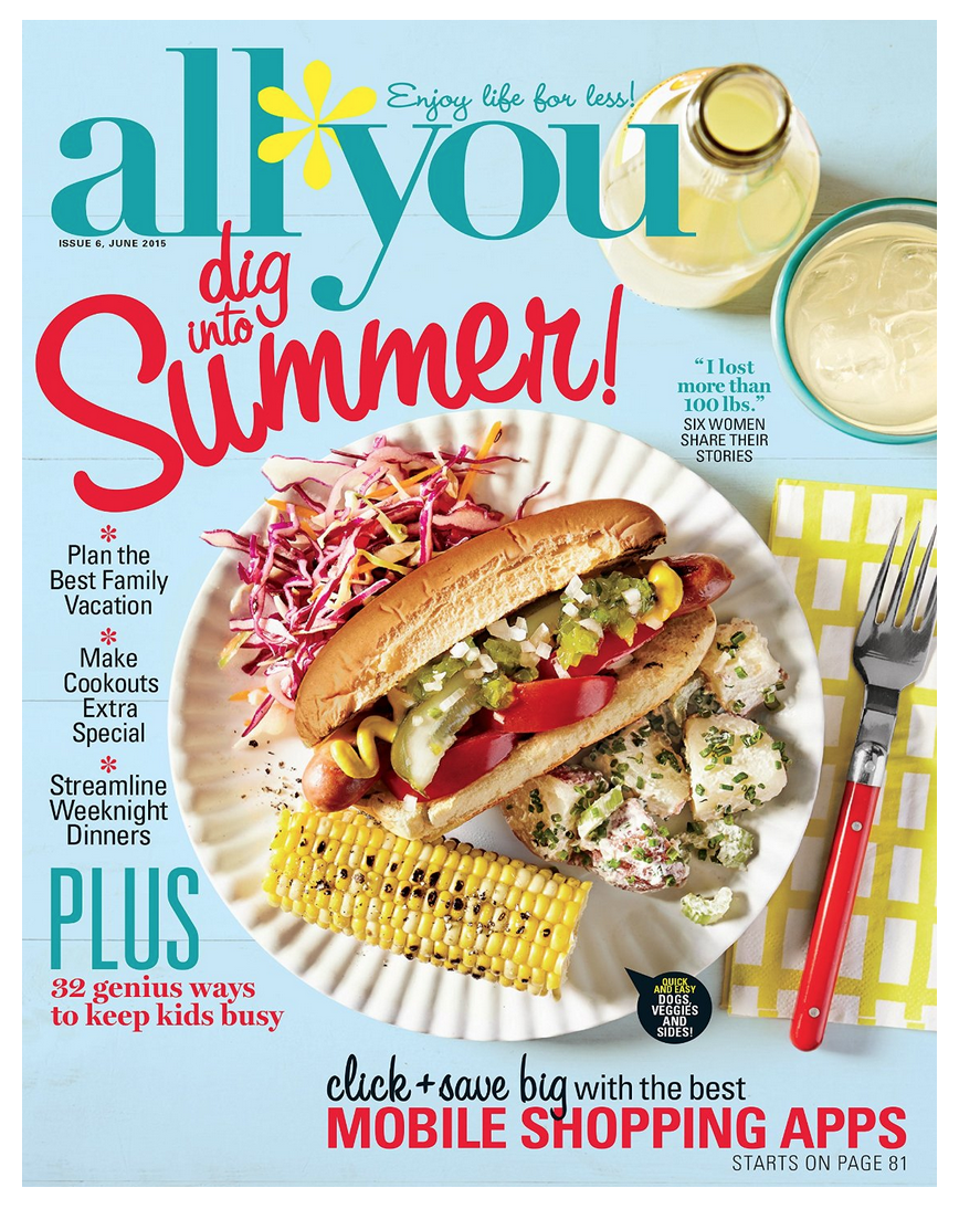 All You One Year Subscription Only $5 (Reg. $35.88!)