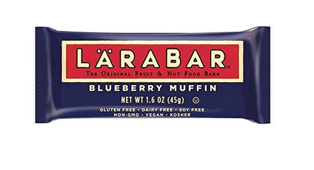 16 Gluten Free LARABAR Blueberry Muffin Bars Only $13.96 Shipped – Just 87¢  Each!