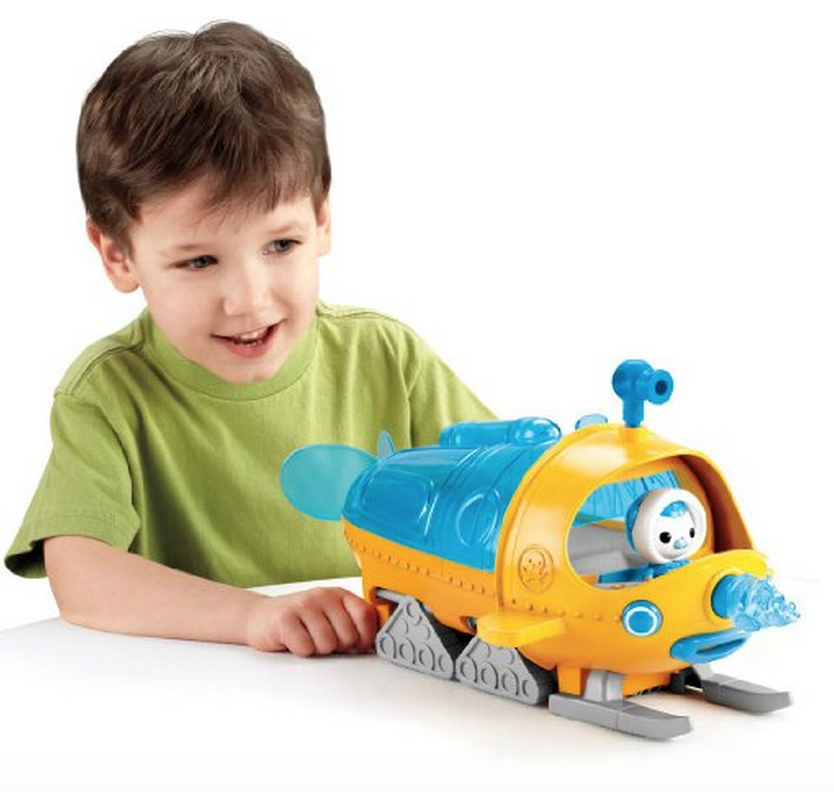 Fisher-Price Octonauts Gup-S Polar Exploration Vehicle Only $29.99 – Lowest Price!
