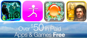 Score $50 worth of FREE android apps and games today!