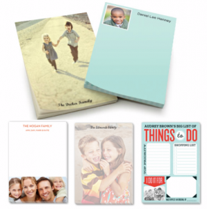 Score a FREE personalized notepad from Shutterfly today!