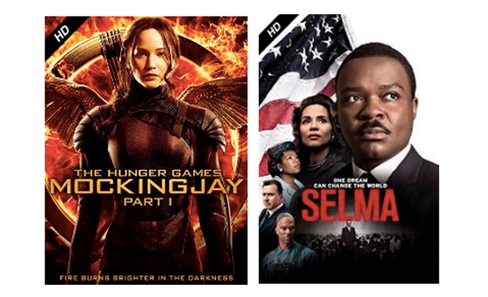 Amazon Instant Video: Rent Hunger Games: Mockingjay Part 1 or Selma for Only 99¢