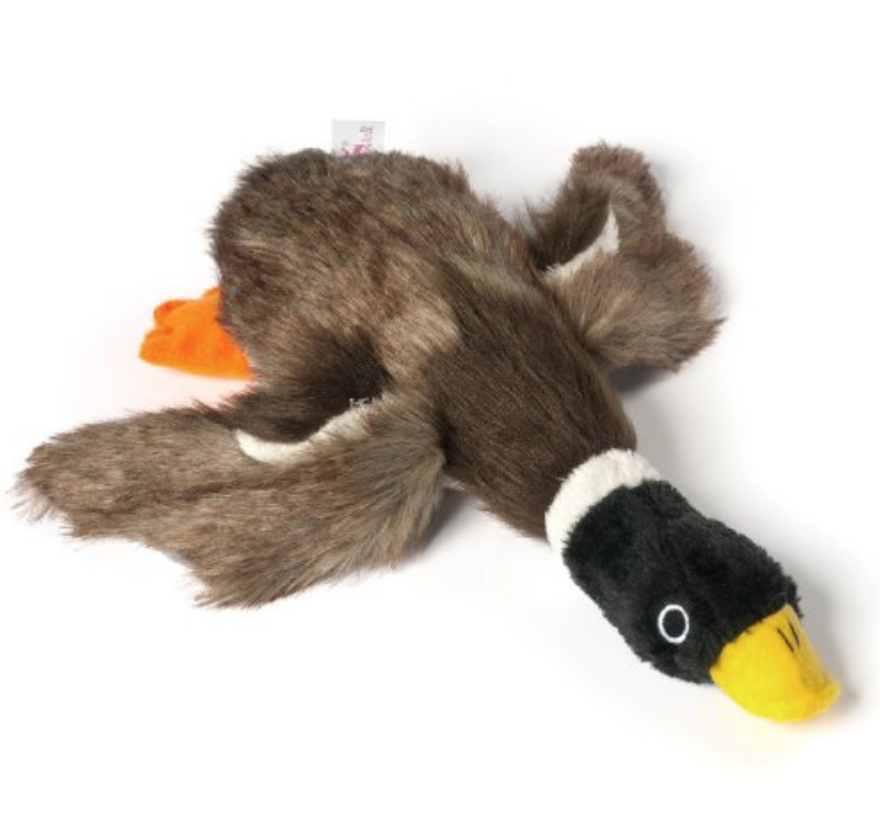 DogLoveIt Squeaky Mallard Duck Plush Dog Toy Only $7.79 (Reg. $9.99!)