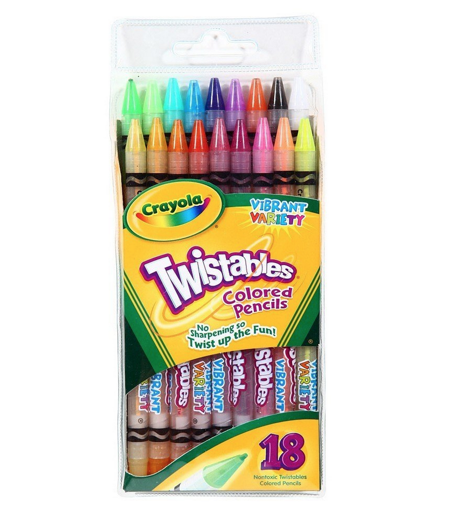 Crayola 18ct Twistables Colored Pencils Only $4.99 (Reg. $7.99!)