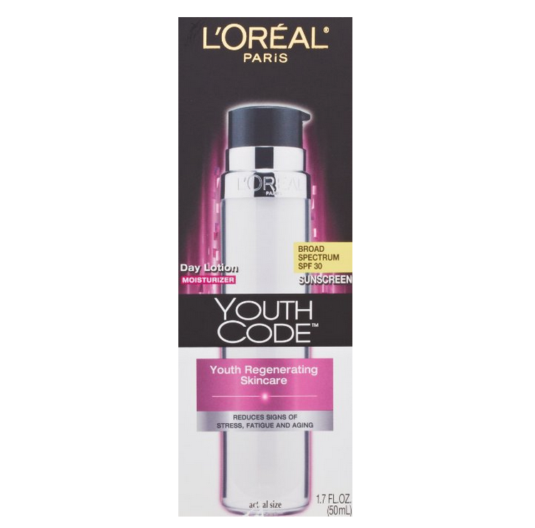 L'Oreal Paris Youth Code Day Lotion SPF 30 Only $9.49 Shipped!