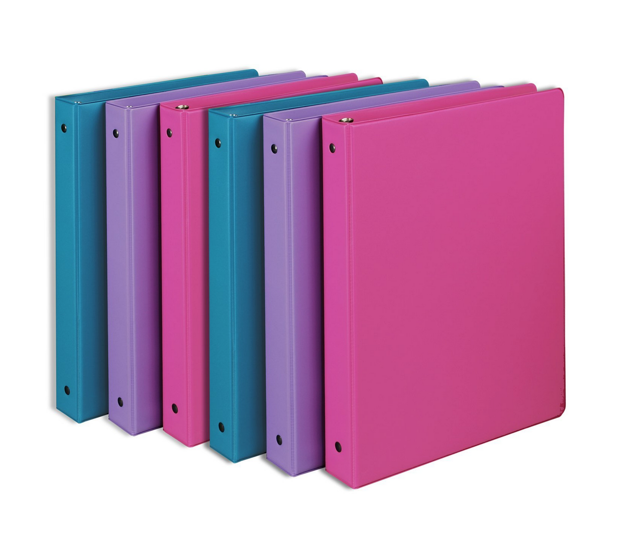 6-Pack Of Samsill 1-Inch Round Ring Binders Only $8.22