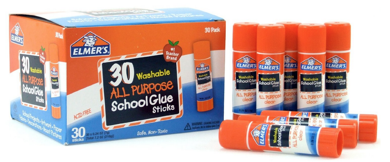 30 ct. Pack of Elmer's Glue Sticks Only $9.99 – Just 33¢  Each!