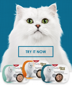 Score a FREE cat food sample today!