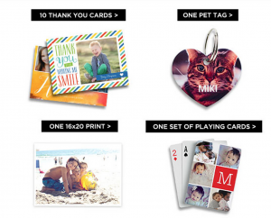 Score FREE photo gifts from Shutterfly today!