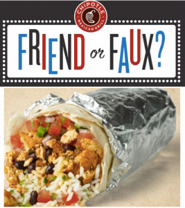 Score B1G1 FREE Chipotle today. Yum!