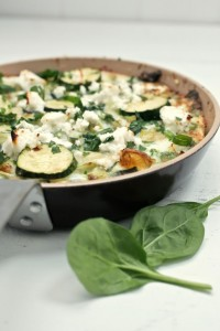 fritatta-spinach