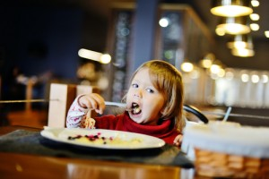 Kids eat free via shutterstock