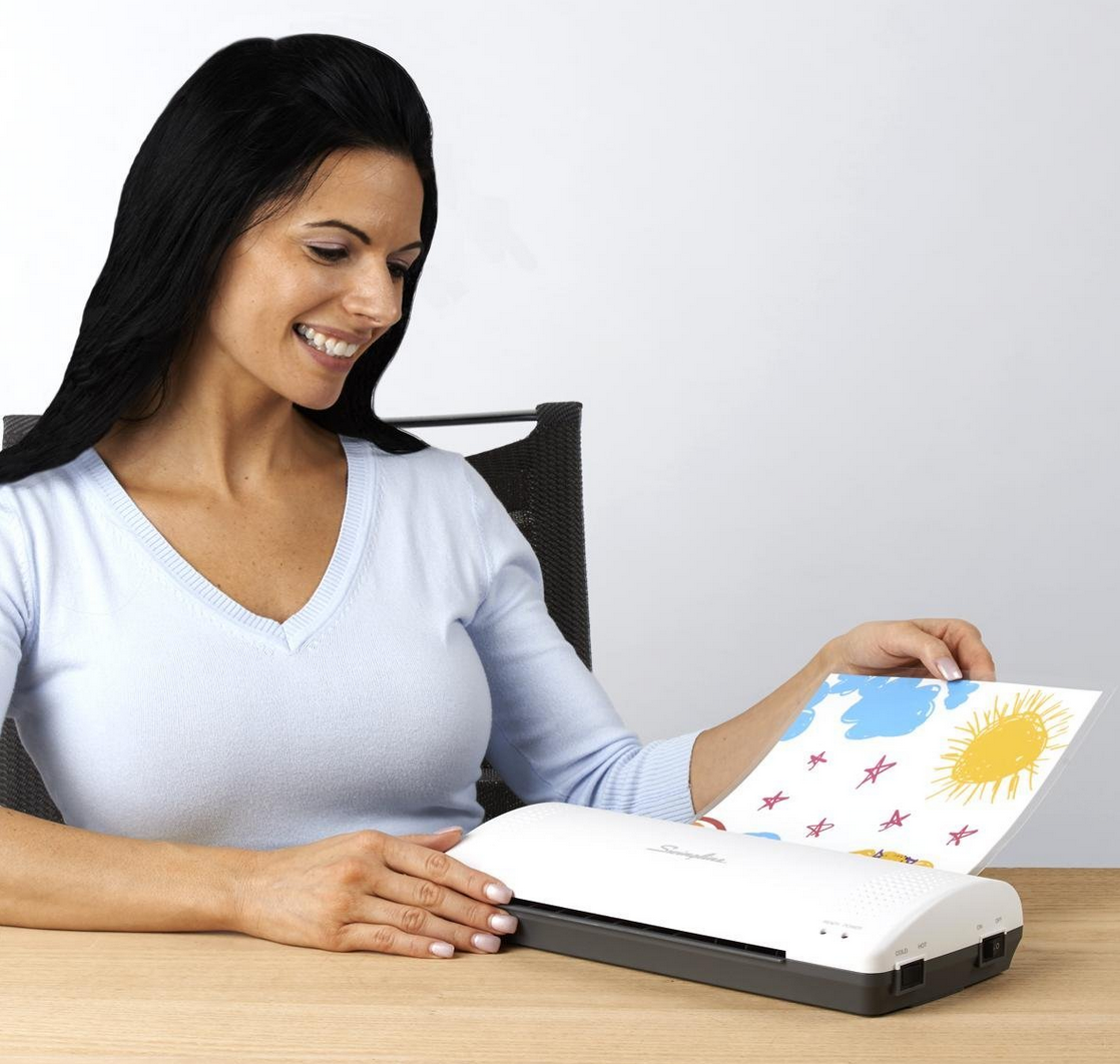 HOT! Swingline Thermal Laminator Only $14.99 (Reg. $50!) & Pouches Deal!