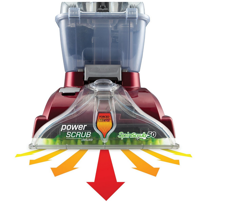 Hoover Power Scrub Deluxe Carpet Washer Only 109 Shipped
