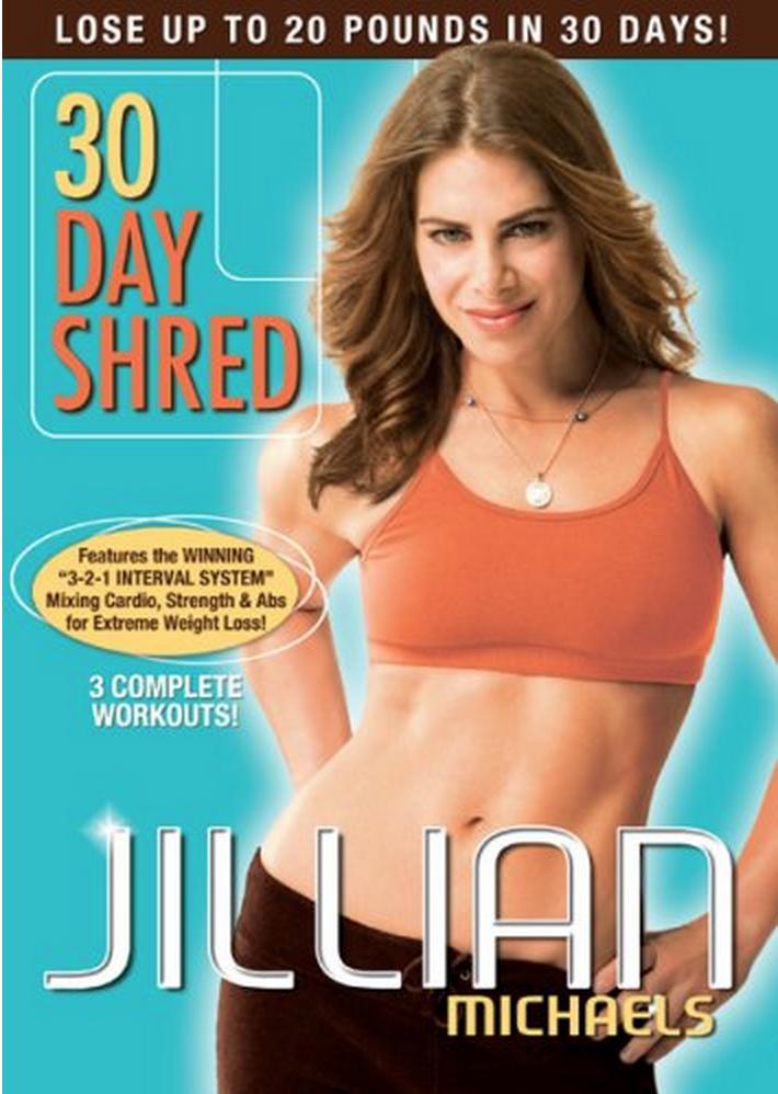 Jillian Michaels – 30 Day Shred DVD Only $6.99 (Reg. $14.98!)
