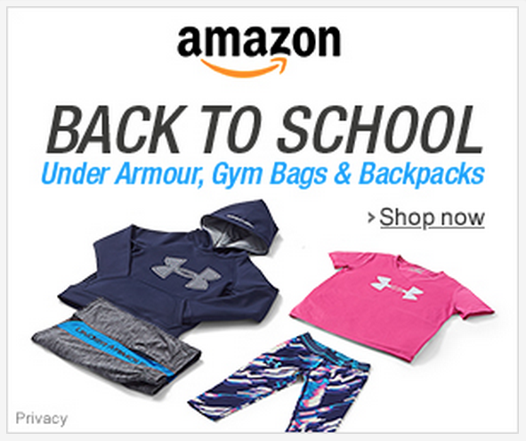 Back-to-School Adidas & Under Armour Gear!