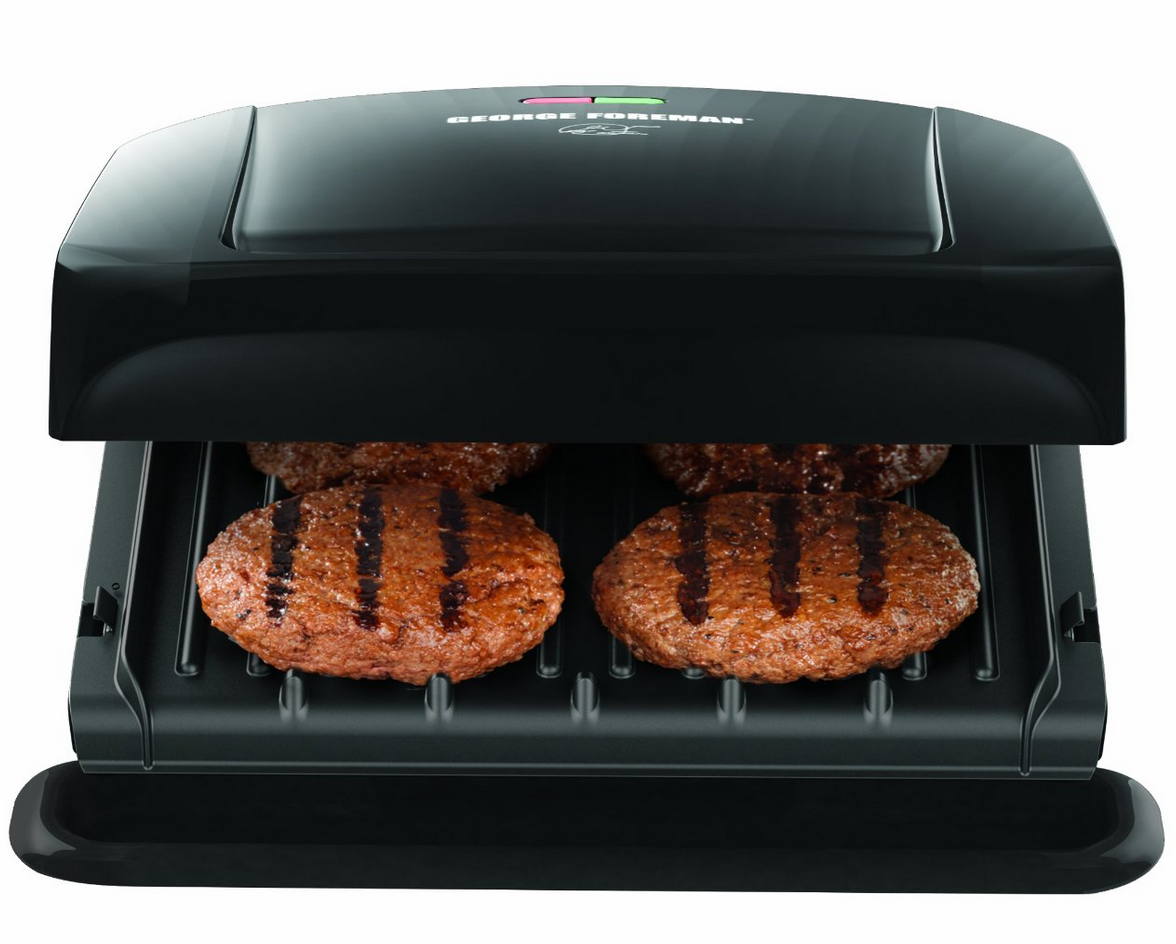 George Foreman 4 Serving Removable Plate Grill Only $29.99 + Mandoline Deal!