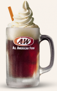 Snag a FREE root beer float today. Yum!