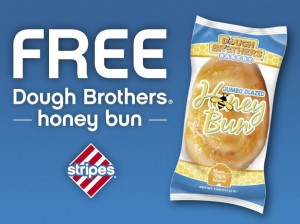 Snag a FREE jumbo honey bun today!