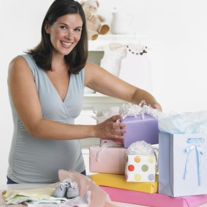 Baby gifts via shutterstock