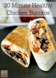 20-Minute-Healthy-Chicken-Burrito-Recipe