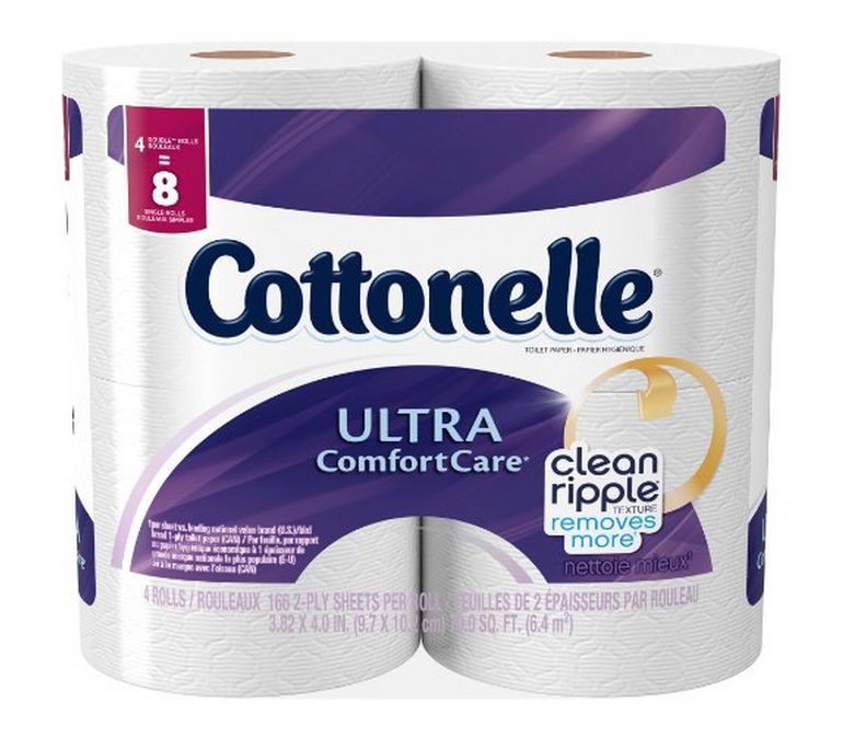 Cottonelle Ultra Comfort Toilet Paper 32 Double Rolls Only $11.97 – Just 37¢ Per Double Roll!