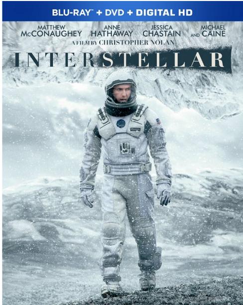 Interstellar DVD Only $7.99 (Reg. $15.99!)
