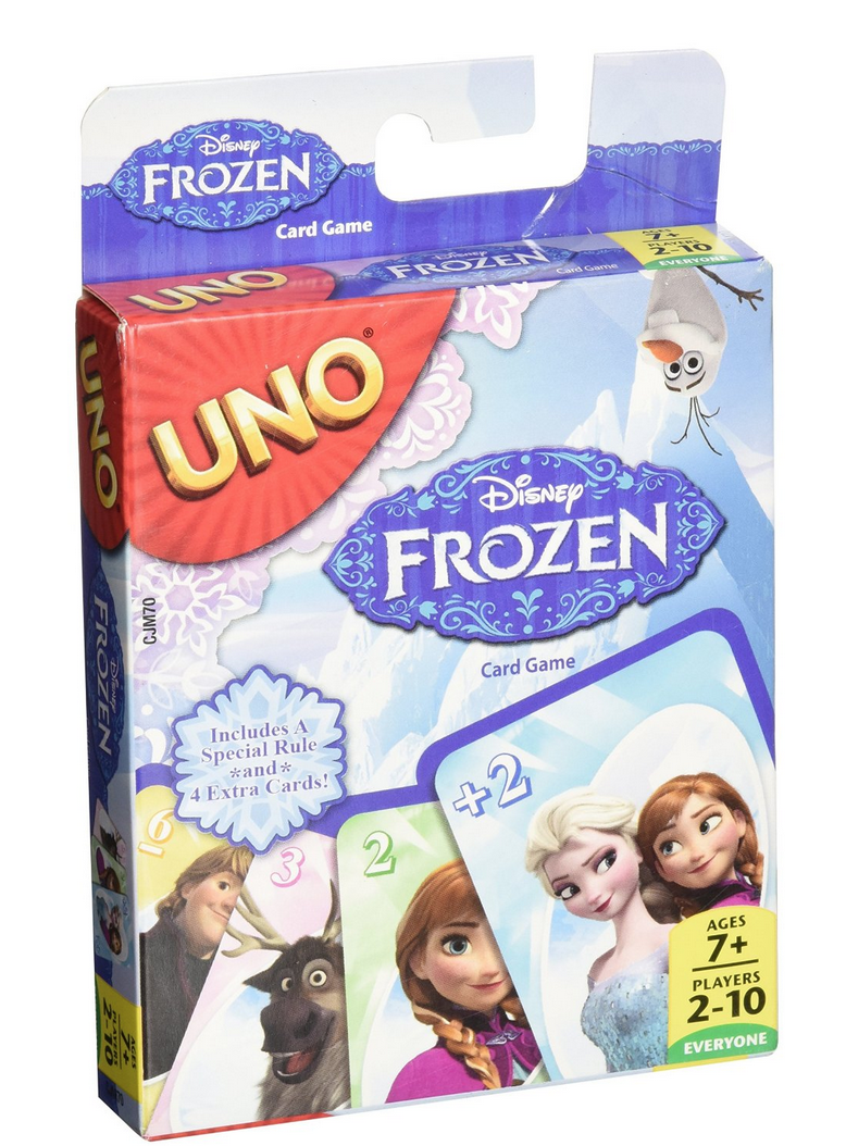 Highly Rated Disney Frozen UNO Card Game Only $4.20 (Reg. 7.99!)