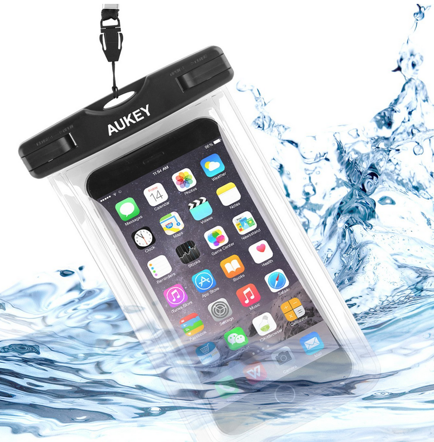 Aukey Universal Waterproof Phone Case Only $3.50 (Reg. $15.99!)