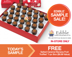 Snag FREE truffles at Edible Arrangements today.